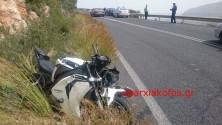Θανάσιμος τραυματισμός σε ατύχημα με μοτοσικλέτα στα Χανιά