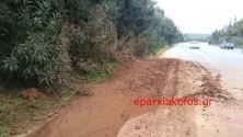 Είναι κατάσταση αυτή στην εθνική οδό;