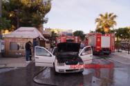 Πυρκαγιά σε Ι.Χ.Ε. αυτοκίνητο