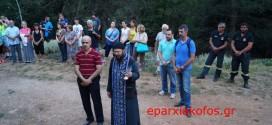Επιμνημόσυνη δέηση και λαμπαδηδρομία στο ιστορικό φαράγγι Καντάνου (Και βίντεο)