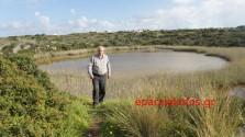 Η λίμνη του Τερσανά… στέγνωσε