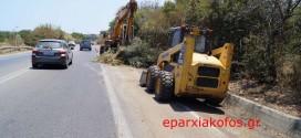 Συνεχίζουν τα νοικοκυρέματα στη νέα εθνική οδό