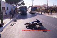 Σοβαρός τραυματισμός οδηγού δικύκλου στο Γεράνι
