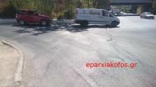 Επικίνδυνα… καρούμπαλα σε οδό (Και βίντεο)