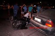 ΣΤΟΝ ΚΑΒΡΟ ΑΠΟΚΟΡΩΝΟΥ – Τροχαίο ατύχημα με τραυματία οδηγό μοτοσυκλέτας