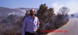 Δύο επικίνδυνες πυρκαγιές στο Σέλινο και την Κίσαμο (Και βίντεο)