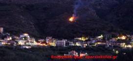 Πυρκαγιά σε αγροτική έκταση στα Τσικαλαριά