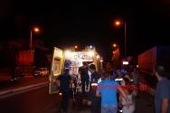 Ανατροπή Ι.Χ.Ε. αυτοκινήτου με δύο τραυματίες στη Σούδα