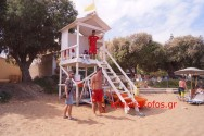 "Nαυαγοσώστες φύλακες ""άγγελοι"" στις παραλίες (Και βίντεο)"