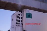 Καπνός από ψυγείο φορτηγού αναστάτωσε τη Σούδα