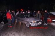 Ανατροπή οχήματος στα Τσικαλαριά