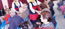 Επίσκεψη Μανιατών στο Δημοτικό Γηροκομείο Χανίων