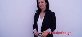Η Άννα Διαμαντοπούλου στο τρισάγιο του Πολυχρόνη Ι. Πολυχρονίδη