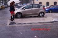 Στιγμιότυπα με πρωινή βροχή στα Χανιά (Και βίντεο)