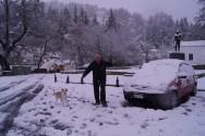 Καθοδόν για τον χιονισμένο Θέρισο