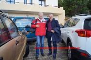 ΣΤΟ ΚΑΣΤΕΛΙ ΚΙΣΑΜΟΥ – Ο Σταύρος Θεοδωράκης επισκέφθηκε το Αννουσάκειο Ίδρυμα (Και βίντεο)