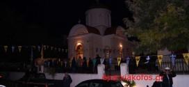 ΣΤΗΝ ΕΝΟΡΙΑ ΑΓΙΟΥ ΙΩΑΝΝΗ ΧΑΝΙΩΝ  – Πλήθος πιστών στον πανηγυρικό Εσπερινό του Αγίου Σπυρίδωνα