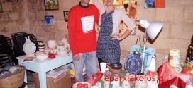 ΣΤΗΝ ΠΥΛΗ ΣΑΜΠΙΟΝΑΡΑ – Η Χριστουγεννιάτικη αγορά αλληλεγγύης
