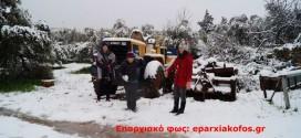 Χιονίζει μέσα στα Χανιά ( Και μικρά βίντεο)