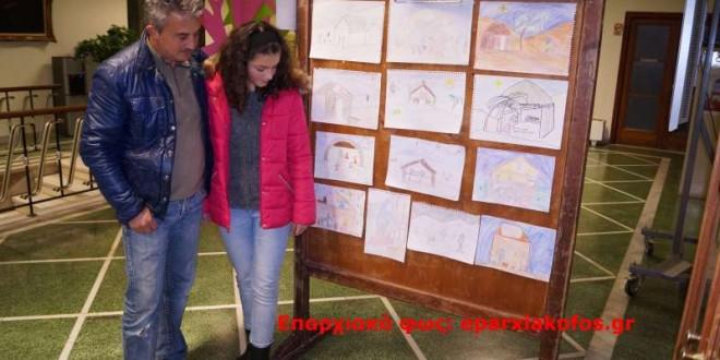 ΣΤΟ ΔΗΜΑΡΧΕΙΟ ΧΑΝΙΩΝ – Βραβεύτηκαν μαθητές για διαγωνισμό ζωγραφικής