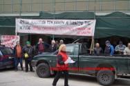 Συμβολική παράσταση στην Εφορεία Χανίων από αγρότες
