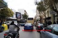 Κυκλοφοριακά προβλήματα στην οδό Ανδρέα Παπανδρέου