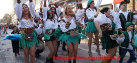 Η καρναβαλική μεγαλειώδη παρέλαση των Χανίων στη Σούδα