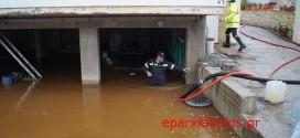 ΣΤΟ ΝΟΜΟ ΧΑΝΙΩΝ – Κατολισθήσεις και πλημμύρες από την πολύωρη καταρρακτώδη βροχή (Και βίντεο)