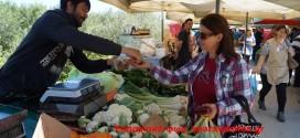Η λαϊκή αγορά Κολυμπαρίου (Και βίντεο)
