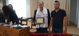 """Νέο βιβλίο από τον Γεώργιο  Καλογεράκη: """" Χρέος ανεξόφλητο το ολοκαύτωμα του Καλλικράτη…"""" (Και βίντεο)"""