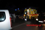 Σοβαρό τροχαίο ατύχημα με τραυματισμό στα Χανιά