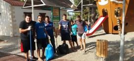 Εθελοντική πρωτοβουλία καθαρισμού του άλσους στο Καμπάνι