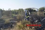 Πυρκαγιά αναστάτωσε κατοίκους στην Ξυλοκαμάρα Χανίων