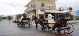Πορεία διαμαρτυρίας από αμαξάδες των Χανίων (Και βίντεο)
