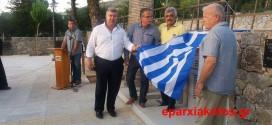 ΣΤΟ ΣΥΡΙΛΙ ΤΟΥ ΔΗΜΟΥ ΠΛΑΤΑΝΙΑ – Εγκαινιάστηκε η πλατεία κι έγιναν τ' αποκαλυπτήρια του μνημείου πεσόντων