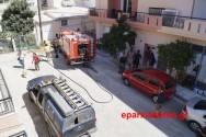 Πυρκαγιά ισόγειας οικίας στον Κουμπέ (Και βίντεο)