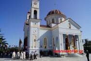 Με λαμπρότητα εορτάσθηκε ο περικαλλής Ιερός Ναός του Τιμίου Σταυρού  στον Αλικιανό (Και βίντεο)