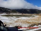 Τα πρώτα χιόνια στο οροπέδιο του Ομαλού