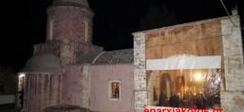 """ΣΤΙΣ ΜΟΥΡΝΙΕΣ ΧΑΝΙΩΝ – Πανηγυρικός εσπερινός στο """"εγκαταλειμμένο"""" παλιό μοναστήρι του Αγίου Ελευθερίου (Και βίντεο)"""