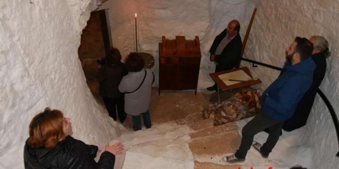 Πανηγυρικός εσπερινός στην κατακόμβη του Αγίου Σπυρίδωνα