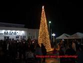 Ο ΔΗΜΟΣ ΠΛΑΤΑΝΙΑ – Άναψε το Χριστουγεννιάτικο δένδρο ( Και βίντεο)
