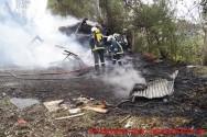 Πυρκαγιά σε οικόπεδο δίπλα από Γυμνάσιο στα Χανιά