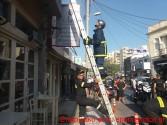 ΧΑΝΙΑ – Αναστάτωση από πυρκαγιά σε κατάστημα στο κέντρο της πόλης