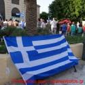 Ομάδα νεαρών επιχείρησε ν' αποτρέψει το συλλαλητήριο για τη Μακεδονία στα Χανιά