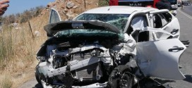 Σοβαρό τροχαίο ατύχημα με 8 τραυματίες στην εθνική οδό Χανίων – Ρεθύμνου