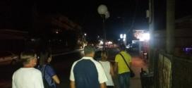 Στο σκοτάδι περπατούν στην Αγία Μαρίνα Χανίων