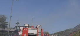 Άμεση κινητοποίηση Πυροσβεστικής για πυρκαγιά στο Καλάμι (Και βίντεο)