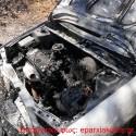 ΣΤΟΝ ΒΛΗΤΕ – Ολοσχερώς καταστράφηκε επιβατικό όχημα από πυρκαγιά