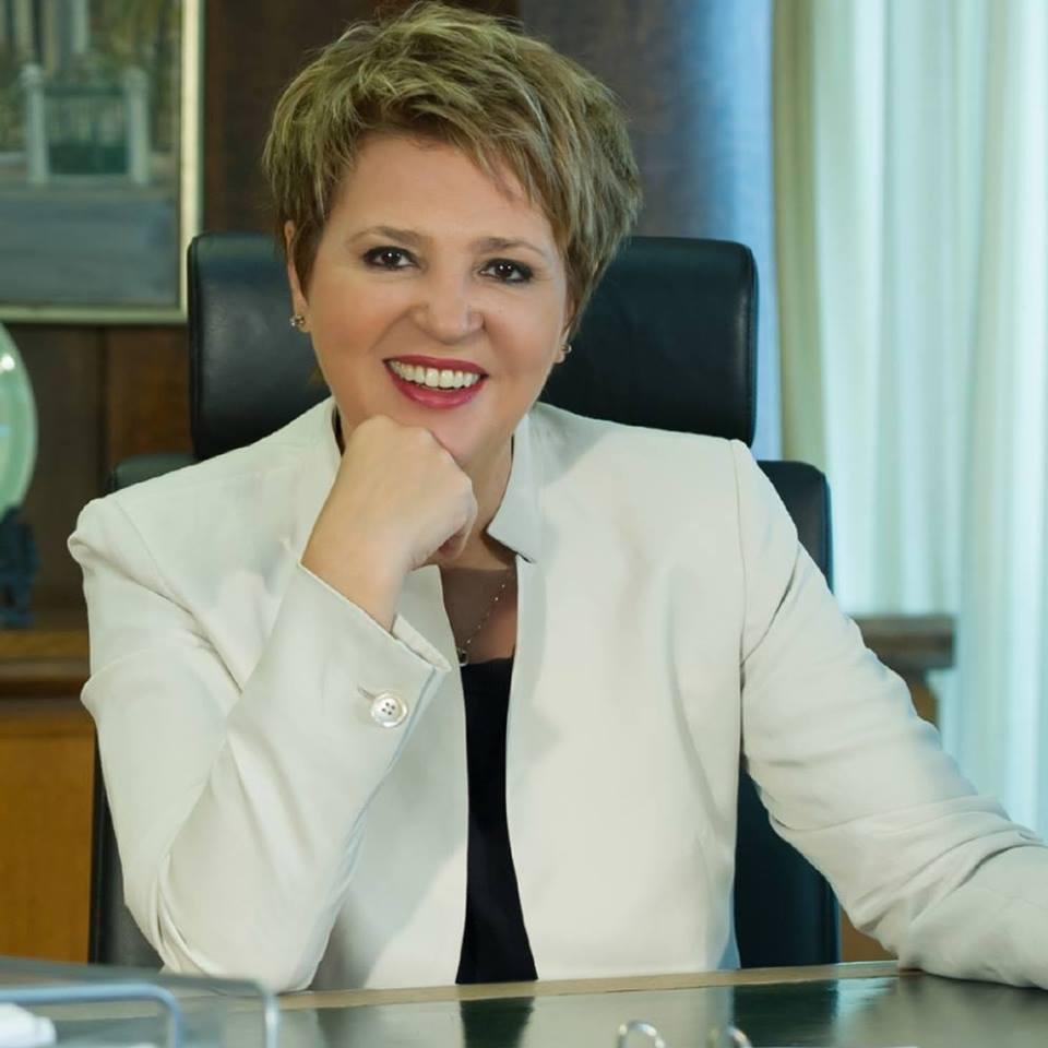 Η κα Όλγα Γεροβασίλη