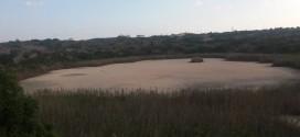 Χωρίς νερό η λίμνη στον Τερσανά του Δήμου Χανίων